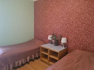 Voodi või voodid majutusasutuse Uhtjärve Ürgoru Nõiariik toas