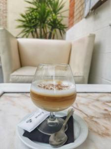 Drinks at La Nueva Mansión