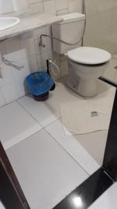 A bathroom at Apartamento Taperapuan