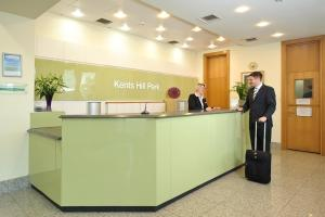 The lobby or reception area at Kents Hill Park