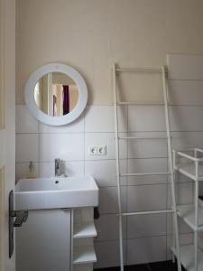 Ein Badezimmer in der Unterkunft Haus Bley