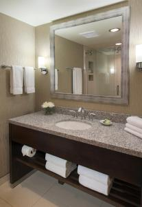 A bathroom at The Madison Concourse Hotel