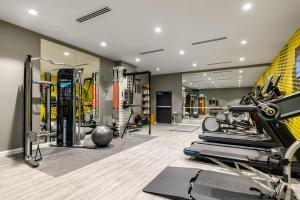 The fitness center and/or fitness facilities at Hampton by Hilton High Wycombe