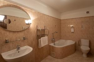 Ванная комната в Zámeček Pod Hradem