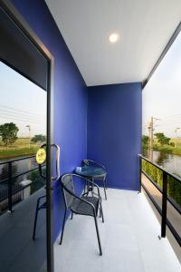 A balcony or terrace at Skyline Resort