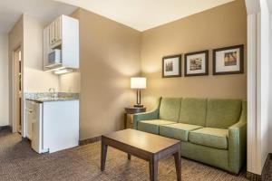 A seating area at Comfort Suites Maingate East