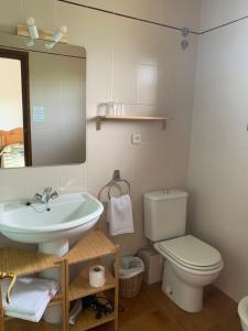 A bathroom at Casa planominguero
