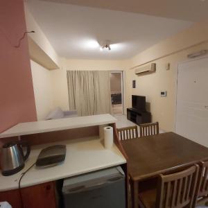 A kitchen or kitchenette at TSELIOS