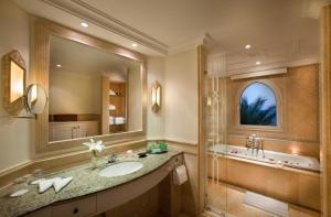 Ein Badezimmer in der Unterkunft Kempinski Hotel Soma Bay