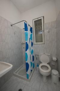 A bathroom at Maria Studios & Apartments
