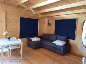 A seating area at Cyprus Glamping Park