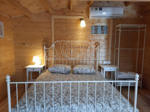 A bed or beds in a room at Cyprus Glamping Park