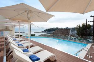 The swimming pool at or near Melina Bay Boutique Hotel