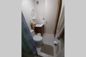 A bathroom at Apartment deluxe , con vista al mar, San Miguel