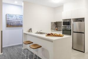 A kitchen or kitchenette at Quest Geelong