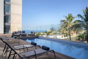 The swimming pool at or close to Premier Splendid Inn Umhlanga