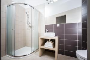 A bathroom at Kampus Palace