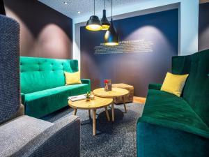 Zona de estar de JUFA Hotel Salzburg