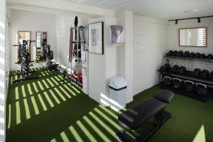 The fitness center and/or fitness facilities at MDD4 Health Experience Hotel - Adults Only