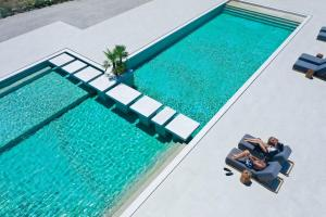 A view of the pool at Adama Mykonos Boutique Hotel or nearby