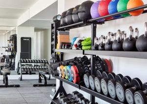 The fitness center and/or fitness facilities at Claridge's