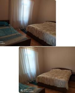 Cama ou camas em um quarto em Gabala,yard, house