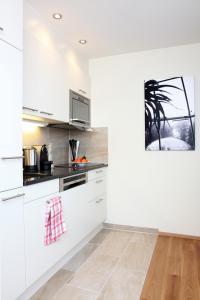 مطبخ أو مطبخ صغير في شقق سيتي ستاي المفروشة - كيسيلغاسي