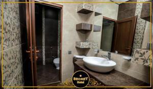 Um banheiro em Secret Hotel Baku