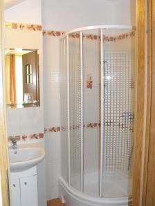Łazienka w obiekcie U Eskulapa