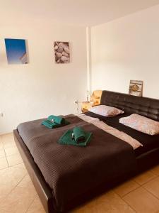 Ein Bett oder Betten in einem Zimmer der Unterkunft Pachmann Studios
