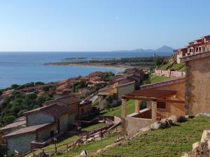 The surrounding neighborhood or a neighborhood close to the resort village