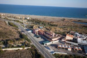 A bird's-eye view of Hotel Las Camelias