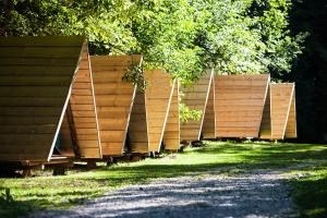 Een tuin van Camping Naturplac Na Skali