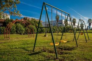 A área de jogos para crianças em Campanile Lisboa Sud - Setubal