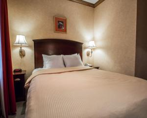 A bed or beds in a room at Clarion Hotel Park Avenue