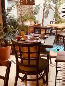 A restaurant or other place to eat at Casa Ruy Lopez