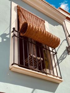 A balcony or terrace at Casa Ruy Lopez