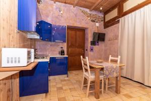 A kitchen or kitchenette at La Pollona 1817