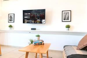 A seating area at Modern&New Loft Puerto Madero