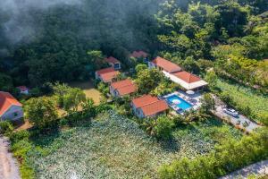 A bird's-eye view of Trang An Retreat