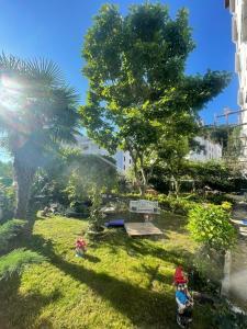 حديقة خارج EVİM APART HOTEL