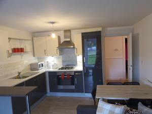 A kitchen or kitchenette at Vetrelax Basildon Blake Apartment