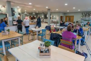 A restaurant or other place to eat at The Attic at Edenmill