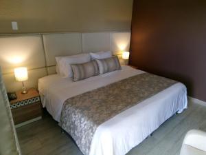 Cama o camas de una habitación en Hotel Salento Plaza