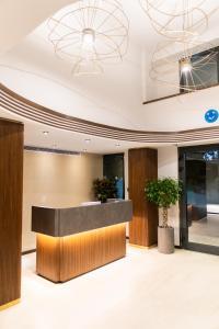 The lobby or reception area at MEG HOTEL