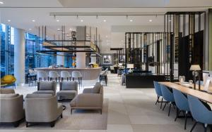 The lounge or bar area at Radisson Collection Hotel, Warsaw