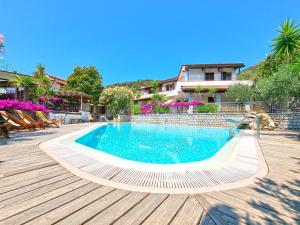 The swimming pool at or near Hotel Montemerlo