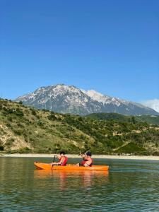 Attività in canoa presso l'affittacamere o nelle vicinanze