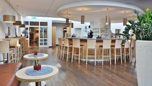 Lounge oder Bar in der Unterkunft Hotel Magnetberg