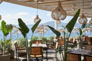 A restaurant or other place to eat at MarBella Corfu